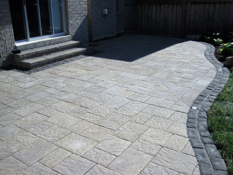 Amazing Backyard Patio Stone